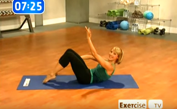 Elise Joan on Exercise TV